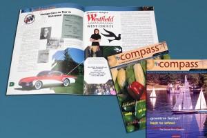 enCompass Magazine design and layout
